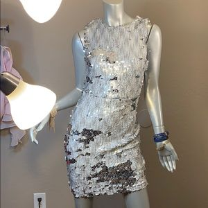 🎉Host Pick🎉Mystic All Sequined Sexy Dress NWOT